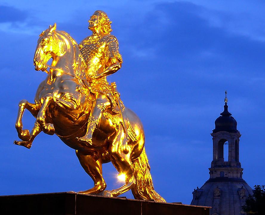Goldener Reiter, Dresden Foto & Bild | deutschland, europe ...