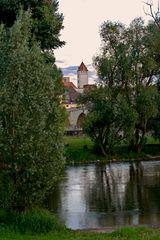 Goldener Turm-Blick zu Regensburg