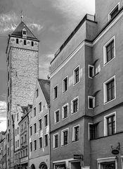 goldener turm / regensburg