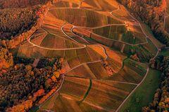 Luftbild aus Baden