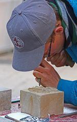 Goldenes Handwerk -Der Steinmetzt-