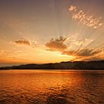 Goldenes Licht am Kirchsee