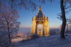 Goldenes Wintermärchen