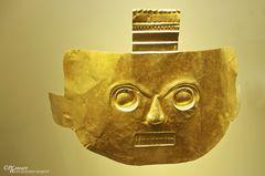 Goldmaske - Bogotás Goldmuseum