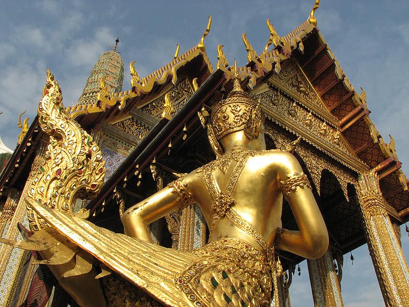 Goldrausch, Königspalast Bangkok