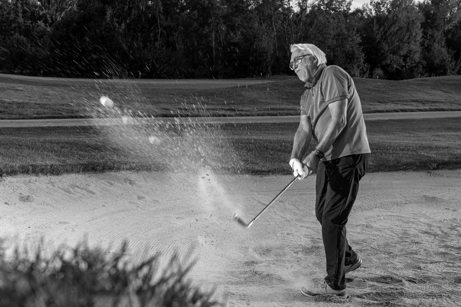 Golf - Action - Sandbunker FKD_6020
