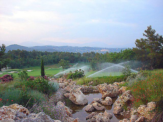 Golfplatz am Abend....