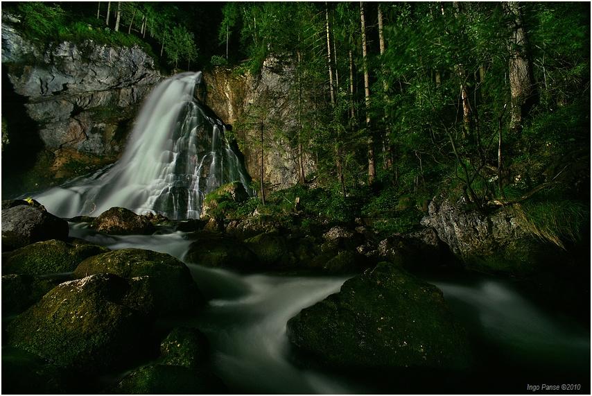 Gollinger Wasserfall Foto Bild Landschaft Naturlandschaft Bei