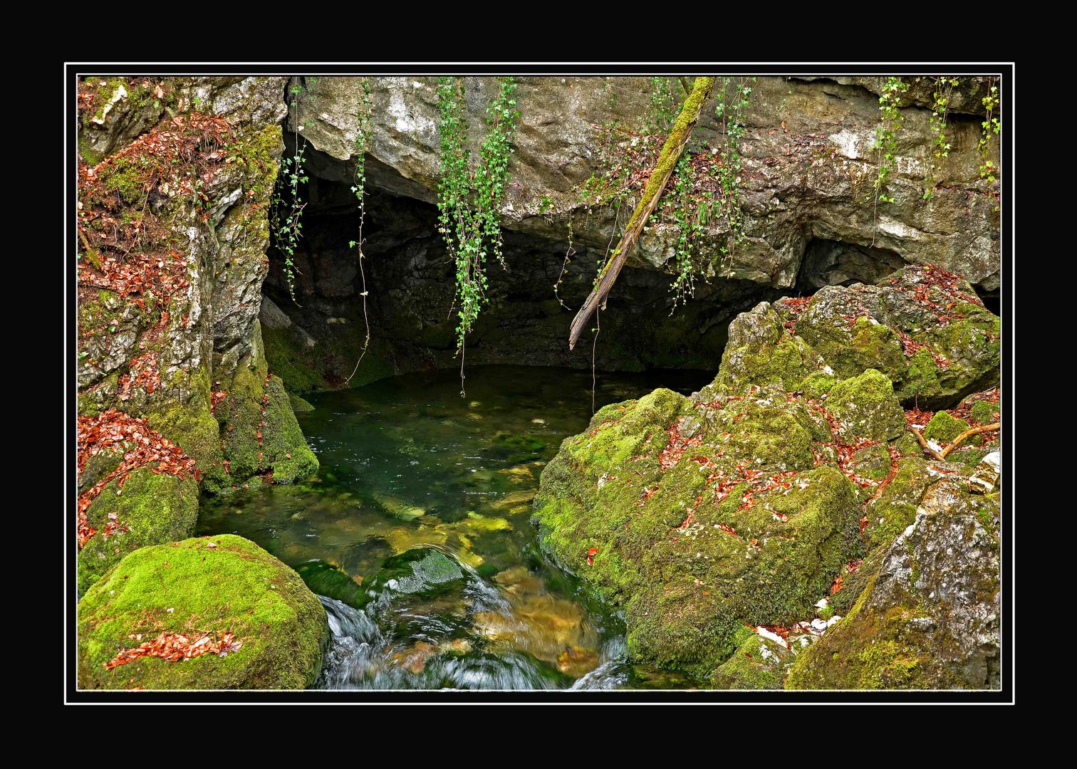 Gollinger Wasserfall - der Ursprung