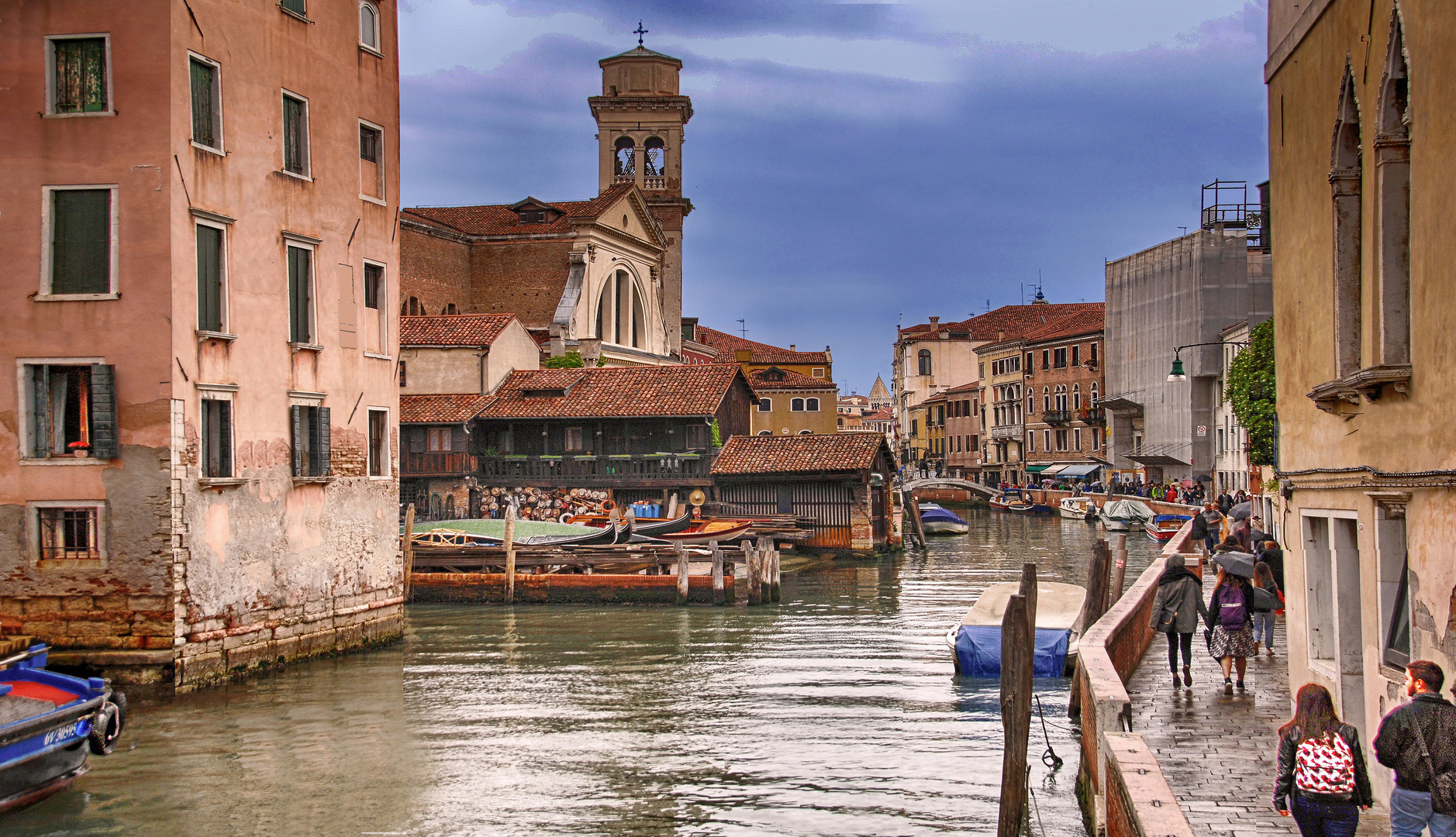 Gondelwerft Venedig (Squero San Trovaso)