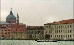 Gondola al Canale della Giudeca