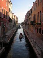 Gondola, backwaters of Venice
