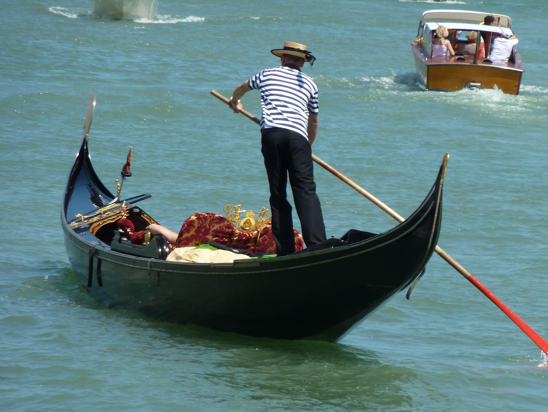 Gondoliere Venedig