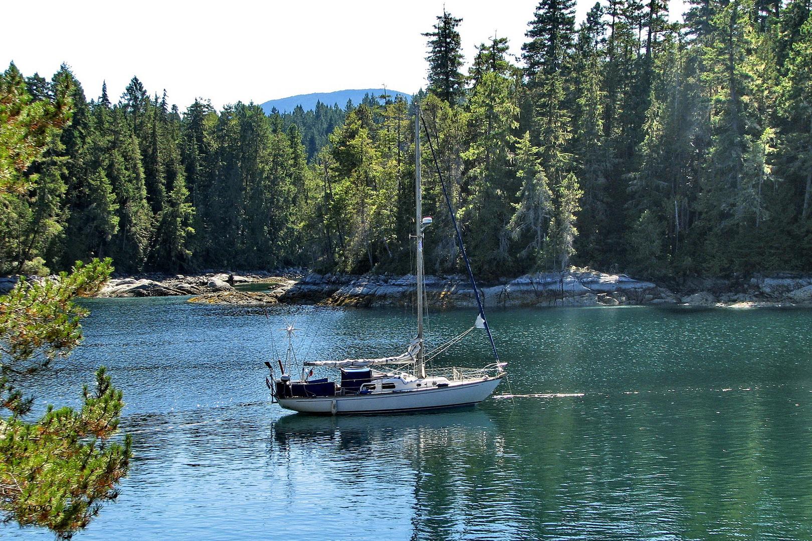 Gone Sailing .....