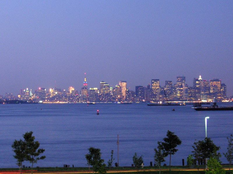 Good night, Manhattan!
