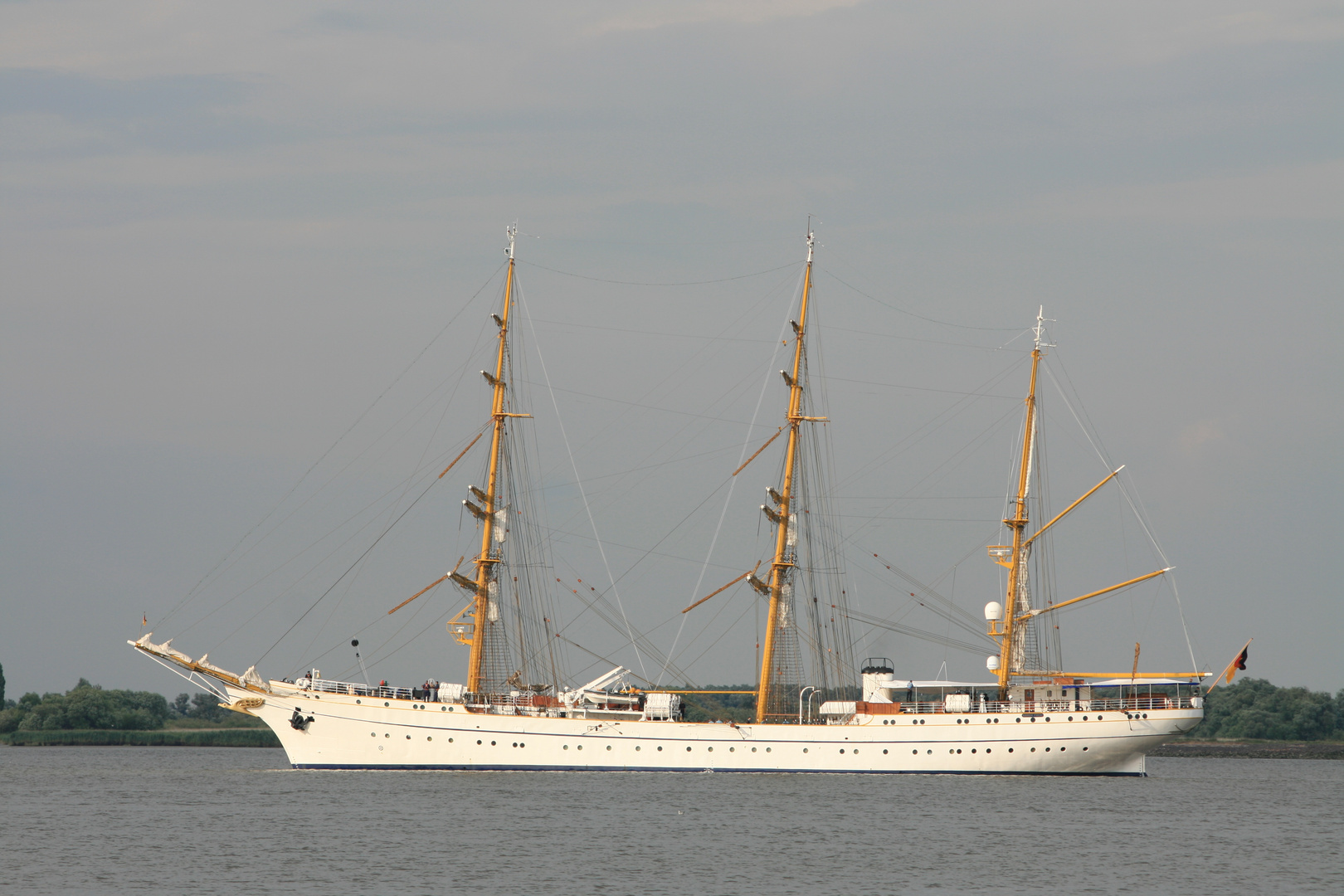Gorch Fock - seit 1989 wieder in Hamburg