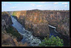 Gorge of Zambezi