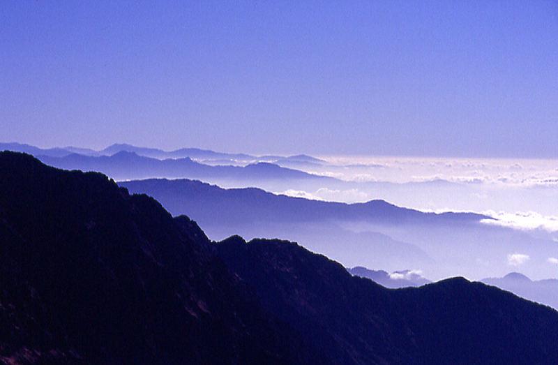Gosainkund La view, east south east