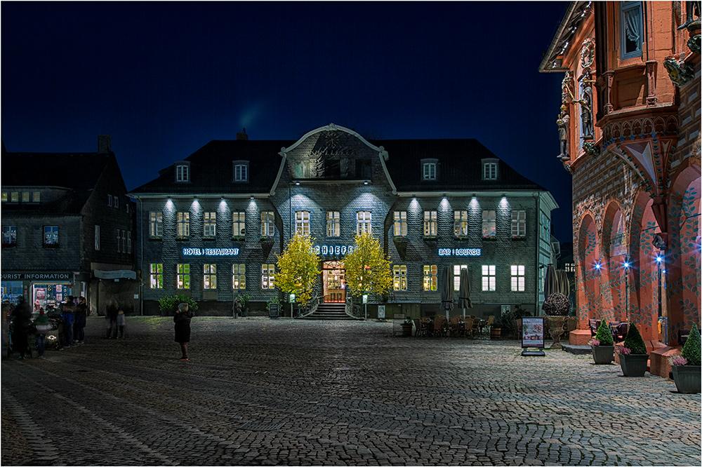 Goslar auf den Rathausplatz