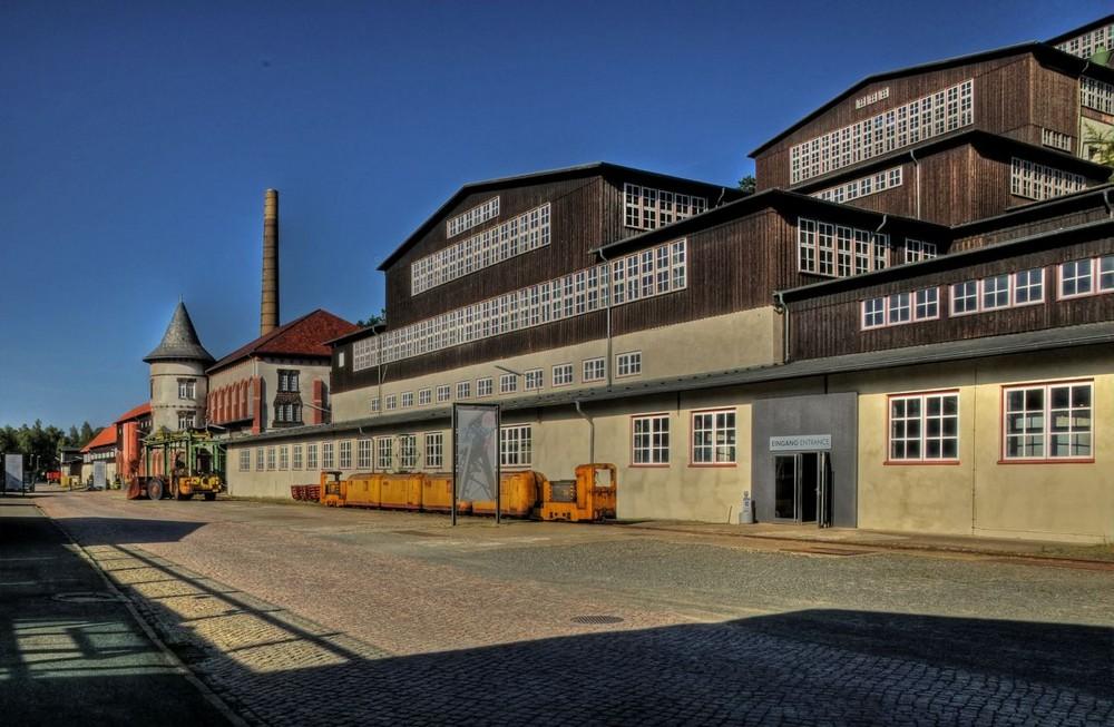 """Goslar -Bergwerk """" Erzaufbereitung und elektrische Zentrale """""""