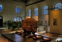 """Goslar-Bergwerk-Museum """" Blick zu dem Werk von Christo - Packege on a Hunt """""""