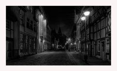 """GosLar - Centrum """" die City beim Nacht"""