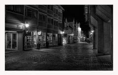 """GosLar - Centrum """" die City beim Nacht_SW """""""