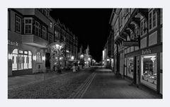 """GosLar - Centrum """" die City beim Nacht_SW"""