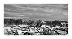 """GosLar """" der Blick auf den Stadtteil Georgenberg in Goslar """""""