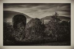 """GosLar """" GosLar im Herbst am Frühenmorgen, mit Blick auf dem Teufelsturm und der Marktkirche"""""""