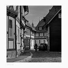 """GosLar - Ober - Stadt """" Blick auf die Türme, der Marktkirche zu GosLar """""""