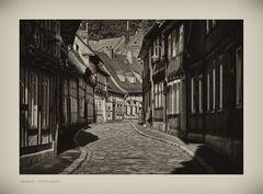 """GosLar - Ober - Stadt """" schöne Häuserzeile, entlang der Peterstrasse """""""