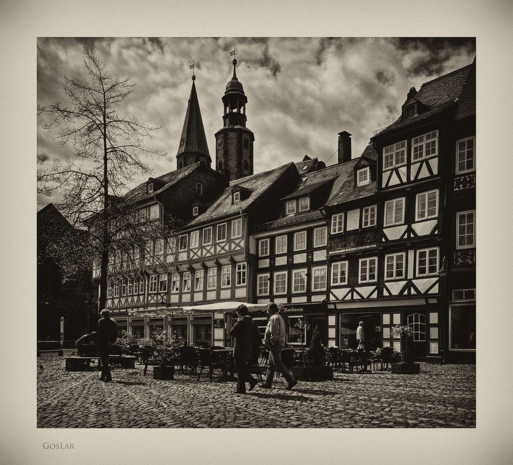 """GosLar - Stadt - Mitte """" Blick, vom alten Marktplatz """""""
