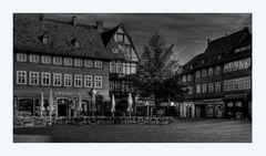 """GosLar - Stadt - Mitte """" Blick vom Marktplatz, am Morgen """""""