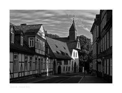 """GosLar - Stadt - Mitte """" Blick zum Gr. Heiliges Kreuz """""""