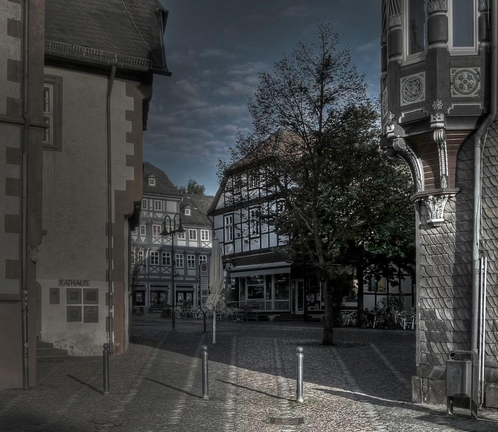 """Goslar - Stadt - Mitte """" der Blick vom Marktplatz """""""