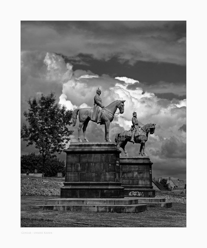 """GosLar - Stadt - Mitte """" die Kaiser, von der Pfalz zu GosLar """""""