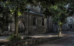 """Goslar - Stadt - Mitte """" Eingang - Nordseite der Marktkirche """""""