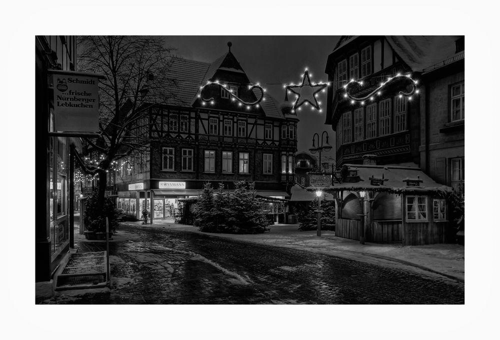 """GosLar - Stadt - Mitte """" GosLarer Advent-Impressionen am Frühenmorgen """""""