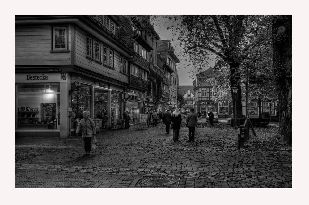 "GosLar - Stadt - Mitte "" GosLarer - City, am Morgen """