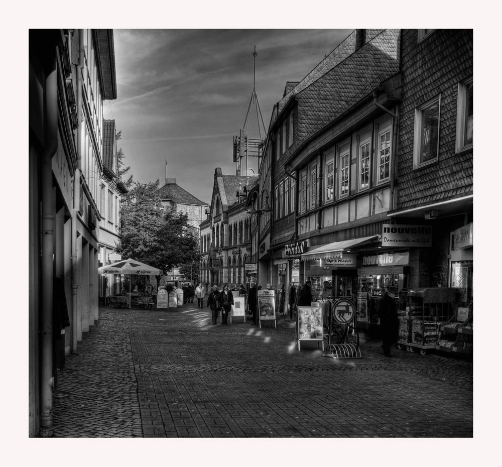 "GosLar - Stadt - Mitte "" GosLarer - City in der Morgensonne """