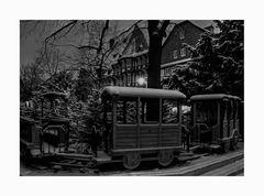 """GosLar - Stadt - Mitte """" GosLarer Weihnachtsmarkt, am Frühenmorgen """""""