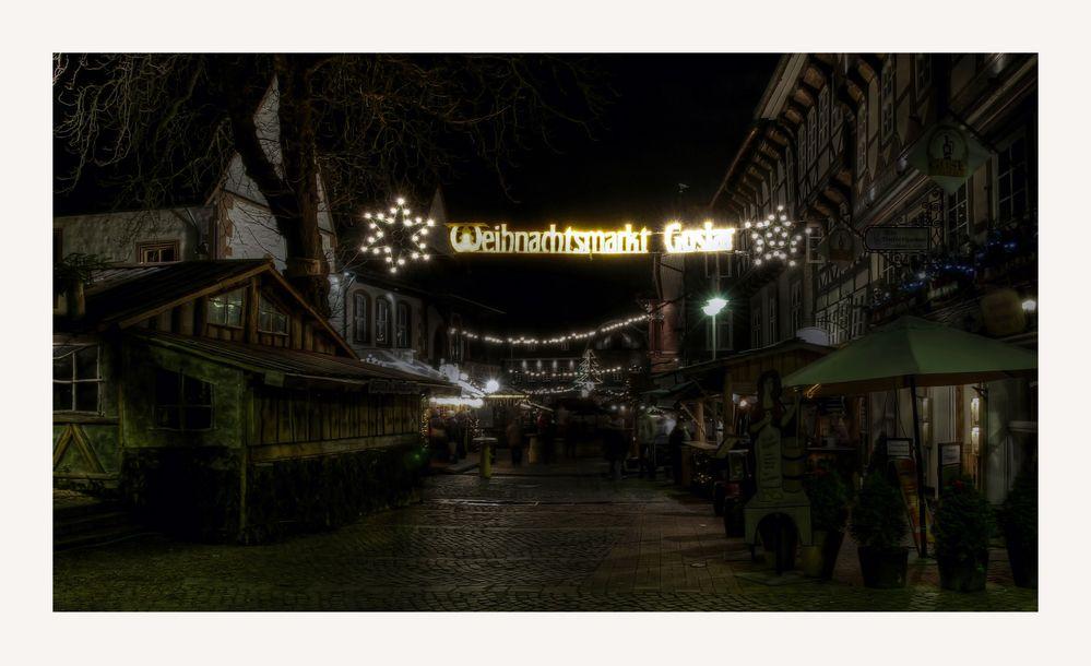 """GosLar - Stadt - Mitte """" GosLarer Weihnachtsmarkt - Impressionen """""""