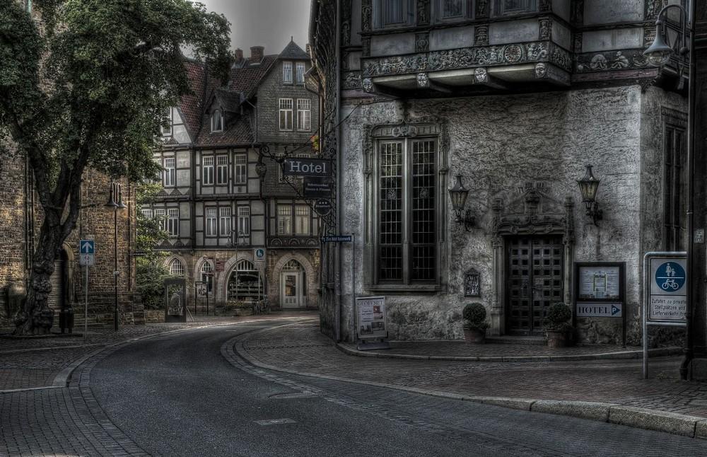 """Goslar Stadt - Mitte """" Gotische Steinfassade """""""