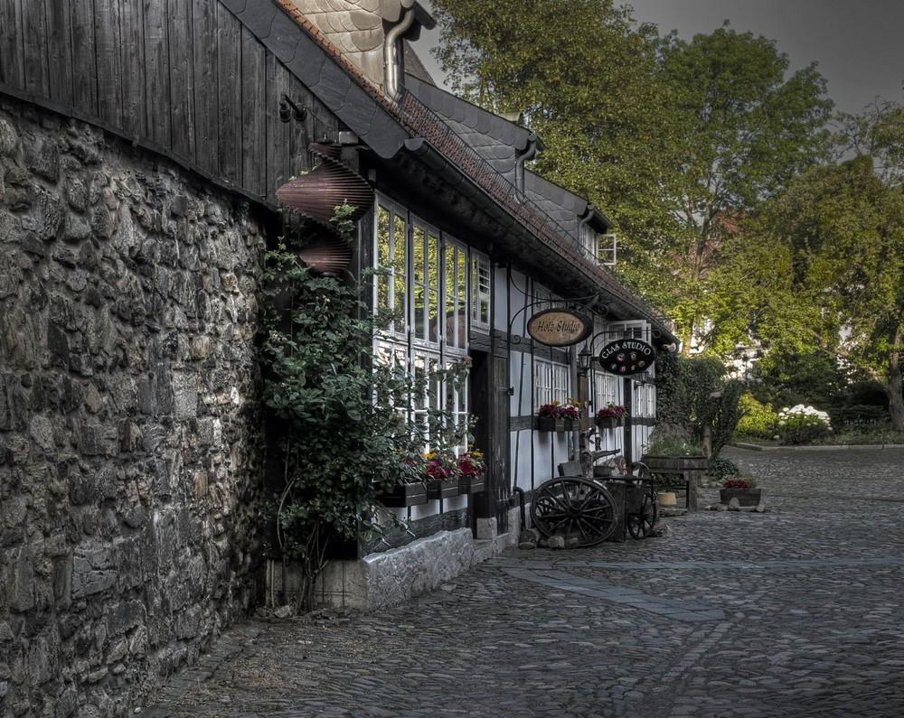 """Goslar - Stadt - Mitte """" Kunsthandwerk im Großen-Heiligen-Kreuz """""""