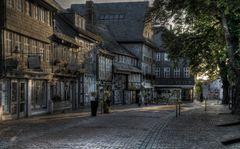 """Goslar - Stadt - Mitte - Nord """" in der Unteren Schilderstrasse, mit seinen Fachwerkhäusern """""""