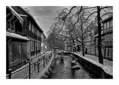 """GosLar - Unter - Stadt """" entlang der Abzuch, am Frühenmorgen """""""