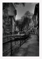 """GosLar- Unter- Stadt """" Goslarer Herbst am Nachmittag """""""