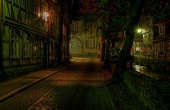 """GosLar - Unter - Stadt """" Herbst Impressionen am Abend """""""