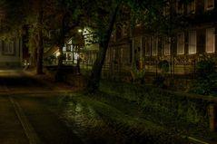 """Goslar- Unter - Stadt """" Herbstimpressionen am Abend """""""